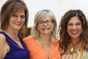 Yvette Mrad Gharib, Patricia Fata El Rached et Sonia Constantin